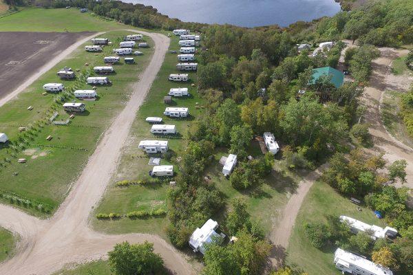 Lake Metigoshe Campground, Manitoba, Canada