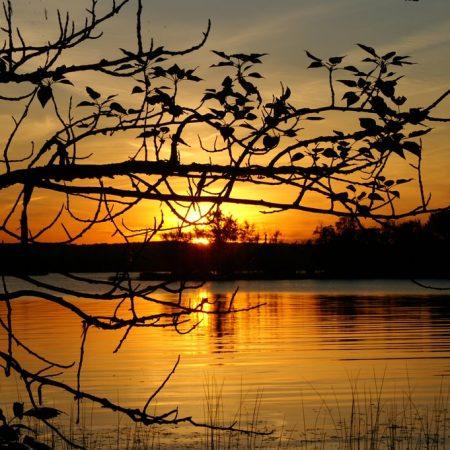 Lake Metigoshe Campground, Manitoba, Canada - Sunset